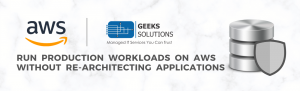 Get on-premises applications and workloads to AWS storage